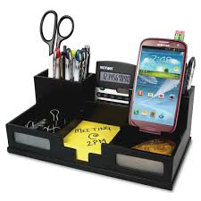 31 slot wooden billletter organizer with drawer desk organizer
