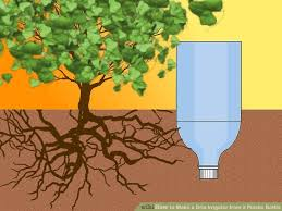 How To Make A Self Watering Planter by 3 Ways To Make A Drip Irrigator From A Plastic Bottle Wikihow