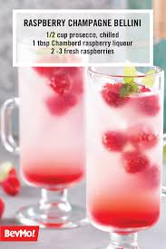 fruity martini recipes one sip of this raspberry champagne bellini recipe and you can be