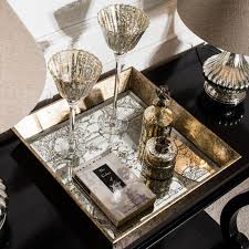 square tray for coffee table square tray with mirrored decorative pattern annie mo s
