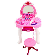 childrens dressing table mirror with lights childrens kids girls play toy dressing table glamour mirror 19 99