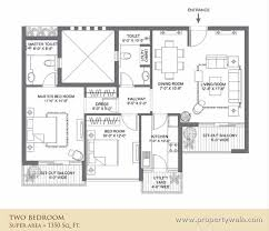 Antilla Floor Plan Landmark The Residency Sector 103 Gurgaon Residential Project