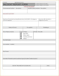 Incident Investigation Report Template by Investigation Report Format India And Incident