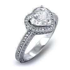 heart shaped diamond engagement ring heart cut diamond engagement rings pros and cons