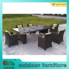 Wicker Rattan Dining Chairs Wicker Rattan Dining Set Outdoor Furniture Chairs And Table 1hotel