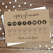 Create Wedding Programs Online How To Create Your Wedding Timeline And Three Timeline Examples