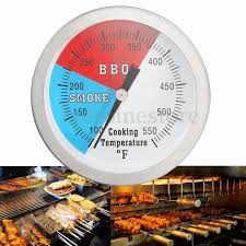 0 280 c stainless steel barbecue bbq smoker grill thermometer