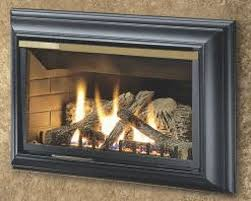 charm vented gas fireplace log set procom vented gas fireplace log