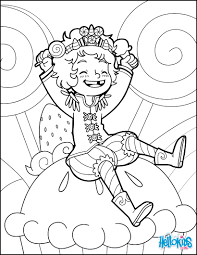 candy prince coloring pages hellokids com