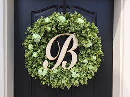 wreaths monogram boxwood wreaths boxwood wreath outdoor