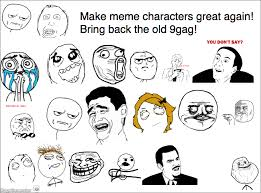 Memes Characters - ragegenerator rage comic make meme characters great again