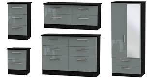 Black Gloss Bedroom Furniture Uk Welcome Furniture Knightsbridge High Gloss Bedroom Furniture Range