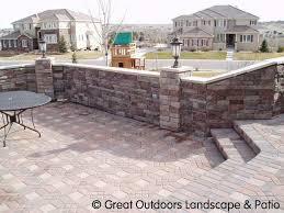 landscaping with bricks denver colorado landscaping brick pavers