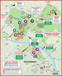 rutgers football parking map texanmark s tailgate guides rutgers tailgate and visitors guide 11