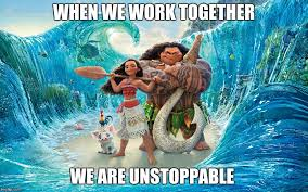 Unstoppable Meme - when we work together we are unstoppable meme