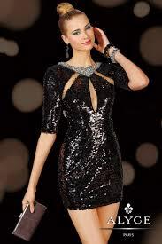 alyce paris prom 8 sparkly black homecoming dresses