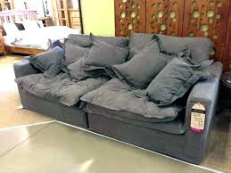 deep seated sectional sofa extra deep sectional sofa pijon club