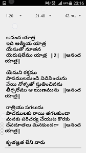 telugu christian songs book android apps on google play