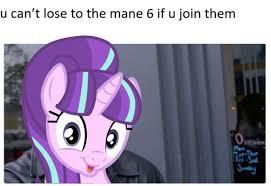 Meme Pony - 1360321 4chan meme pony roll safe safe solo starlight