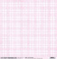 pink tartan pink tartan pattern 12 x 12 scrapbook paper by craft creations