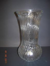 Clear Vases Hoosier Brand Glass Clear Vase 4082 4090 Ad 968905 Addoway