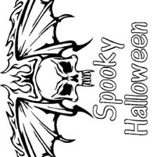 Scary Coloring Pages For Halloween Archives Mente Beta Most Scary Coloring Paes
