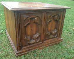 Cabinet End Table Liquor Cabinet Etsy
