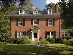 federal style house vs colonial home design and style
