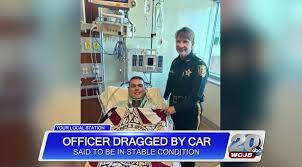 watercar gator lake city police officer was hit by car and dragged for a mile
