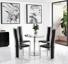 Target Dining Chairs by Target Dining Set With 2 Black Chairs Modern Furniture Direct