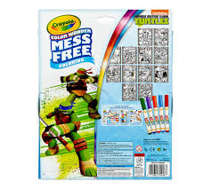 color metallic paper u0026 markers teenage mutant ninja