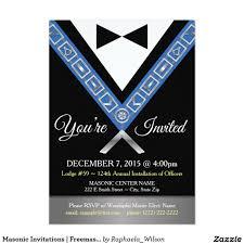 meaning of rsvp in invitation card masonic invitations freemason tux custom invite masonic