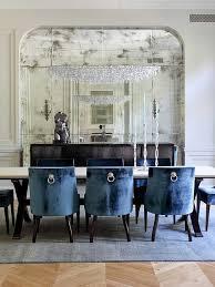 velvet chairs dining room artistic color decor lovely on velvet
