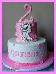 marie from aristocats birthday cake topper decoration 9cm tall