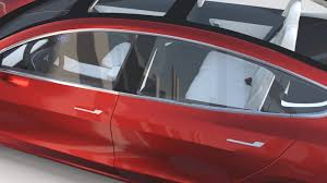 tesla model 3 interi tesla model 3 red with interior and chassis by dragosburian 3docean