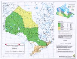 Capital Of Canada Map Ecozones Ecoregions And Ecodistricts