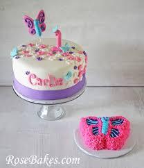 flutterbies butterflies 1st birthday cake u0026 smash