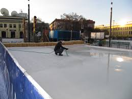 Homemade Backyard Ice Rink by About Center Ice Rinks Inc