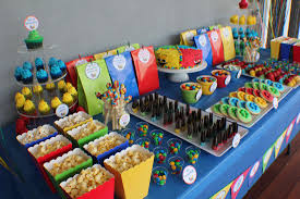 Candy Party Table Decorations Kids Dessert Tables Bliss Party Designs Mateo M U0026m Birthday