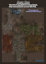 Mars Map Red Faction Guerrilla Mars Map Jpg Neoseeker Walkthroughs