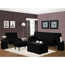 Futon Living Room Furniture Carameloffers - Futon living room set