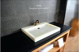 trough sink two faucets trough sink bathroom and image of trough sink bathroom double trough