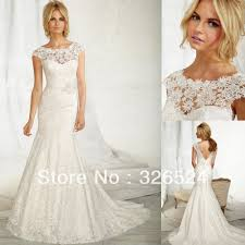 scoop neck lace wedding dress turmec lace wedding dress scoop neck
