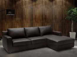 Modern Leather Sleeper Sofa Leather Sectional Sleeper Sofa By J M Furniture 2 345 00