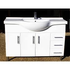 Recessed Bathroom Vanity by Selene L1200r 1200mm Semi Recessed Bathroom Vanity Unit Right