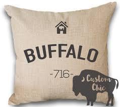 buffalo pillow buffalo ny pillow buffalove pillow