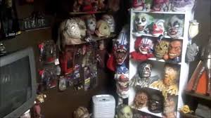 horror room and halloween mask collection youtube