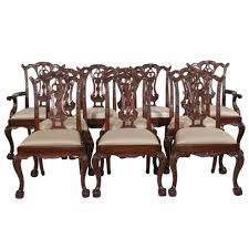chippendale dining room furniture set of chair 56 1 org z chairs