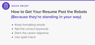 How To Get My Resume Noticed Online by How To Get Your Resume Past The Ats Robots The Muse