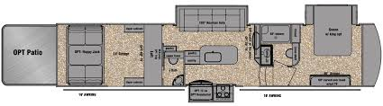 download 16 foot toy hauler floor plans adhome